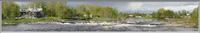 Панорама р.Нижнего Выга (г.Беломорск)